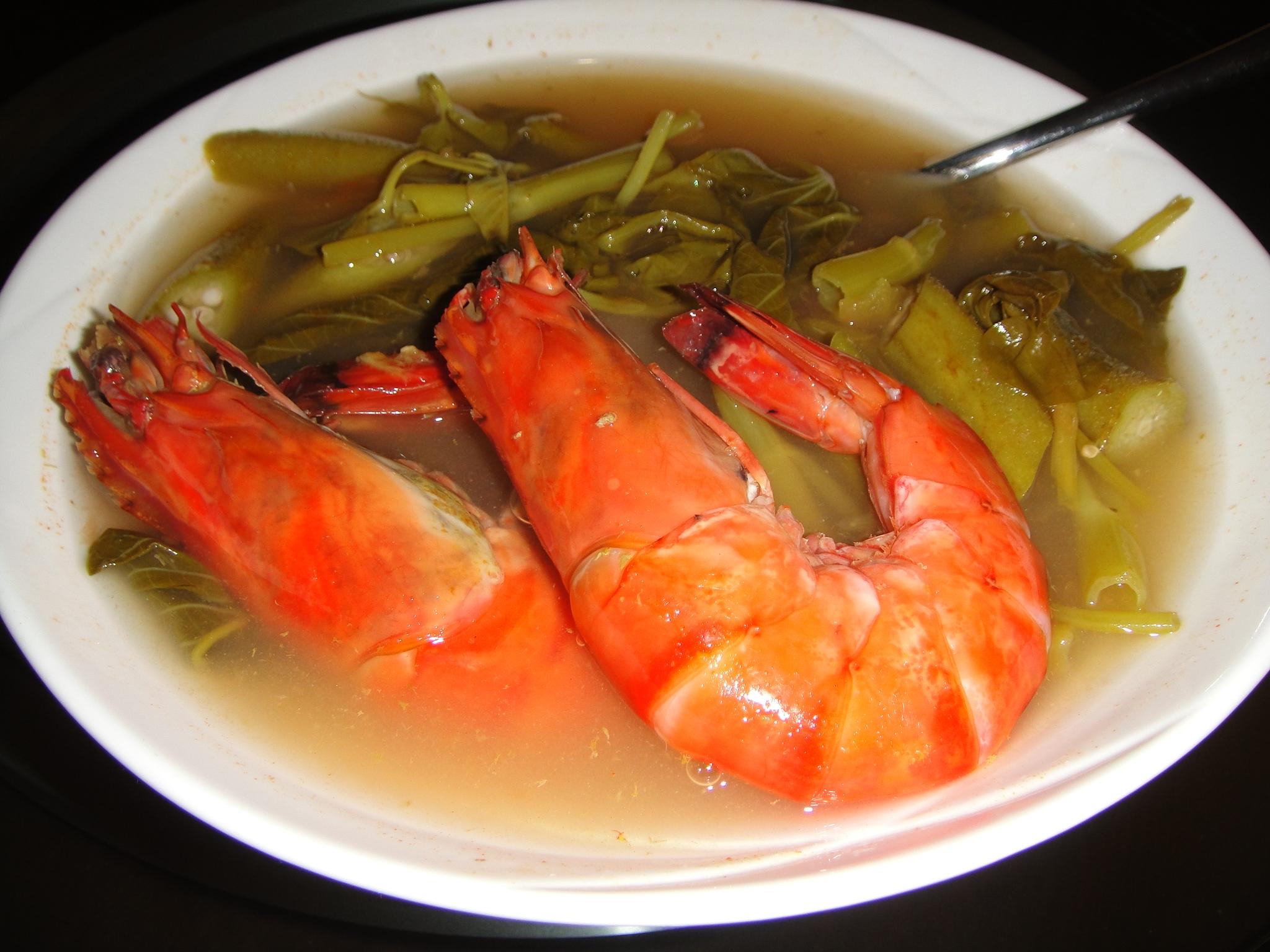 Dinner NOW: Shrimp in Tamarind Soup | JAZaweebit~
