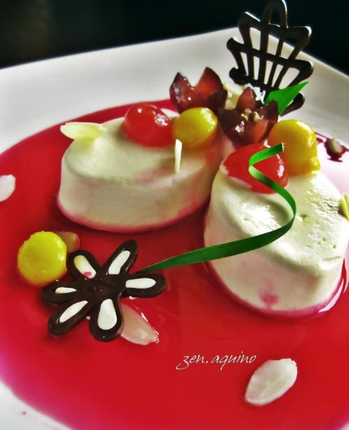 Chef Zen's Bavarian cream or Crème bavaroise or simply Bavarois