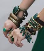 Jade arm candy