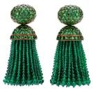 Emerald-earrings