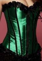 Emerald-corset