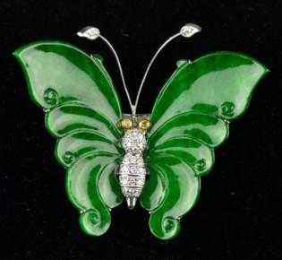 Emerald-butterfly