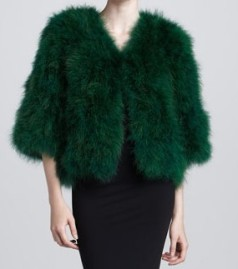 Emerald-fur-coat