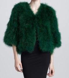 Emerald-fur-coat