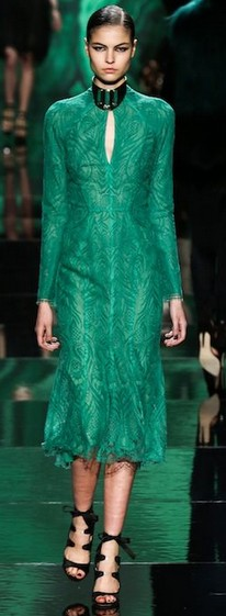 Emerald-dress