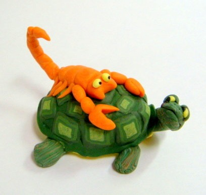 the tale of the scorpion and the turtle