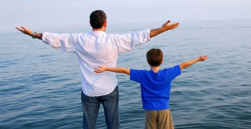 5 Lessons the Teacher Cant Give Your Kids - Father and son